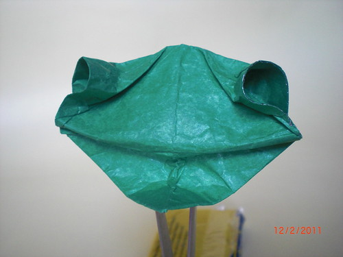 Paper Frog 8 Photos | Kermit the frog (head) | 395
