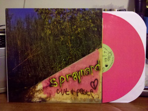 Spraynard - Cut + Paste LP - Pink Vinyl /100