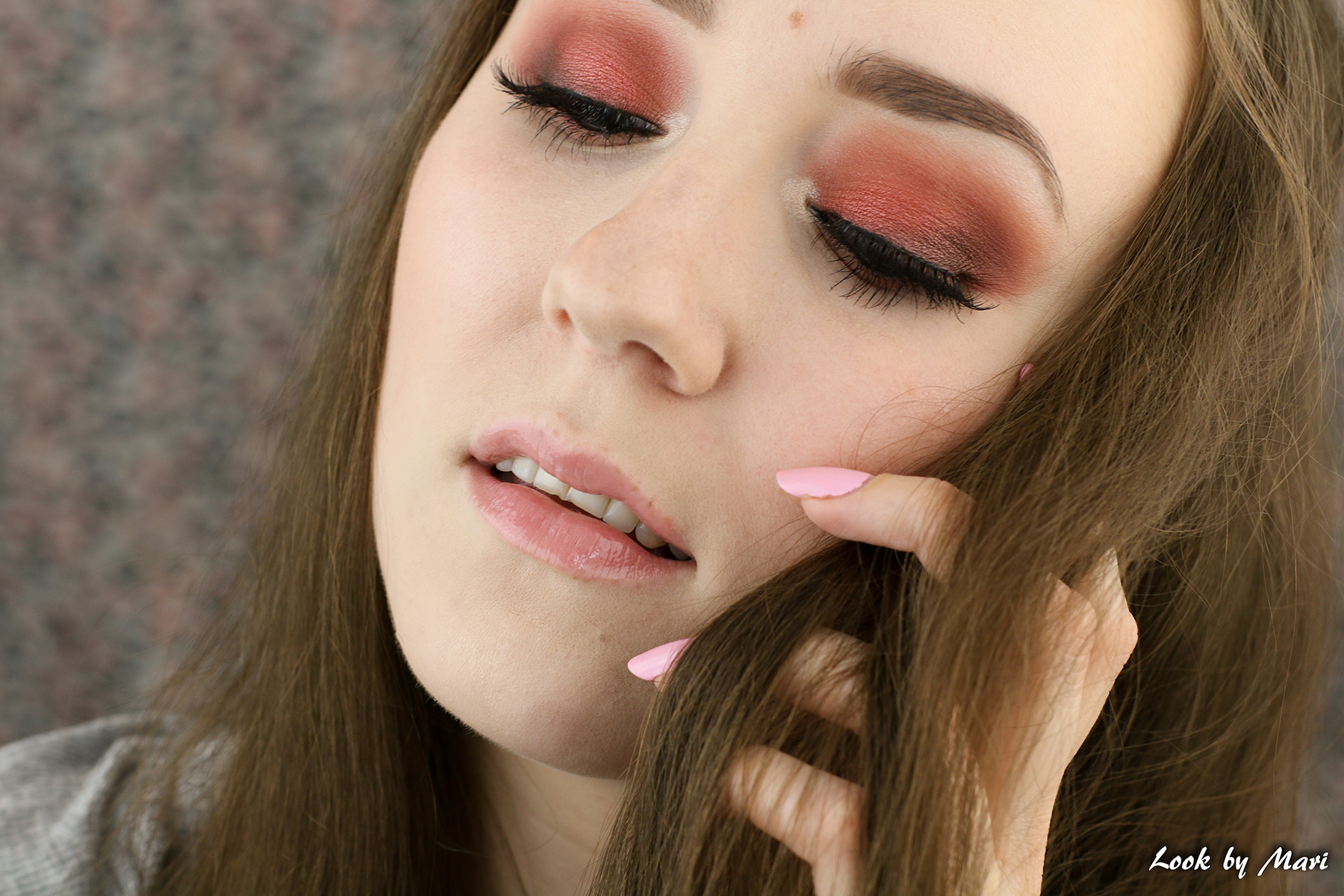 2 warm red smoky eye makeup tutorial ideas inspo inspiration nyx blog-2