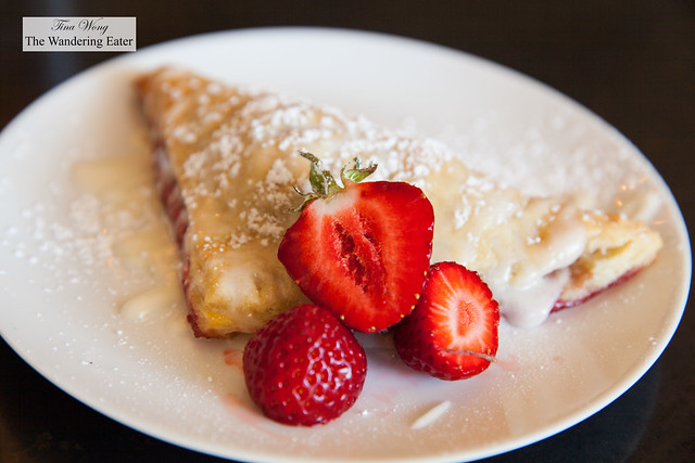 Pastry of the day - Local strawberry turnover