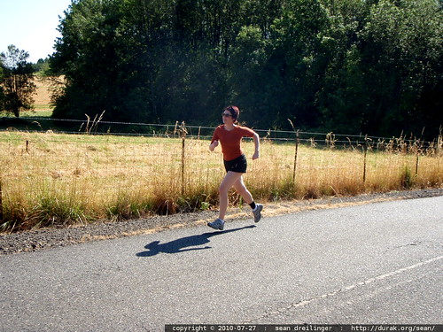 rachel running uphill   P7270022