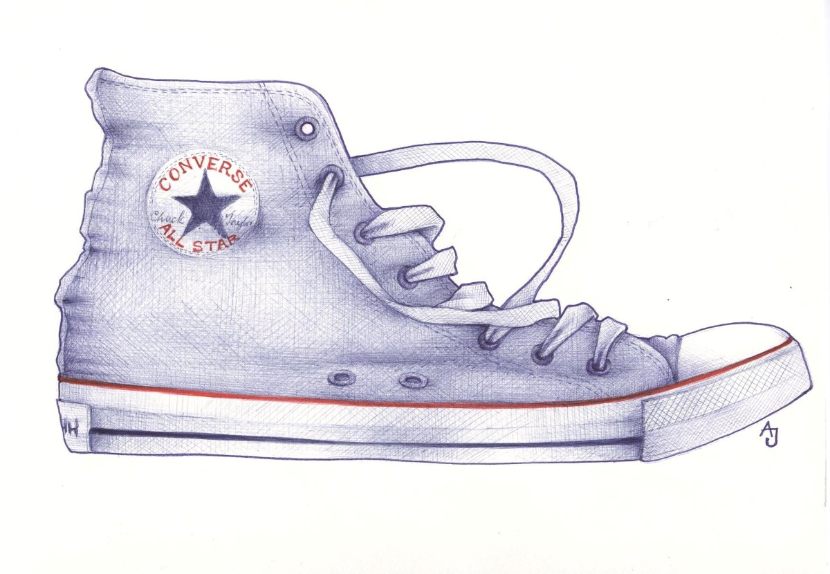 High Top Shoe Background