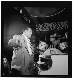 [Portrait of Duke Ellington and Sonny Greer, Aquarium, New York, N.Y., ca. Nov. 1946] (LOC)