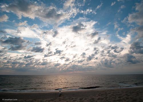 ocean morning summer beach water clouds sunrise nikon capecod massachusetts oceanview atlanticocean hl wellfleet d300 lecounthollow capecod2010