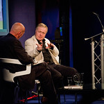 Ian Blair talking to Peter Guttridge | Ian Blair at Edinburgh International Book Festival 2010