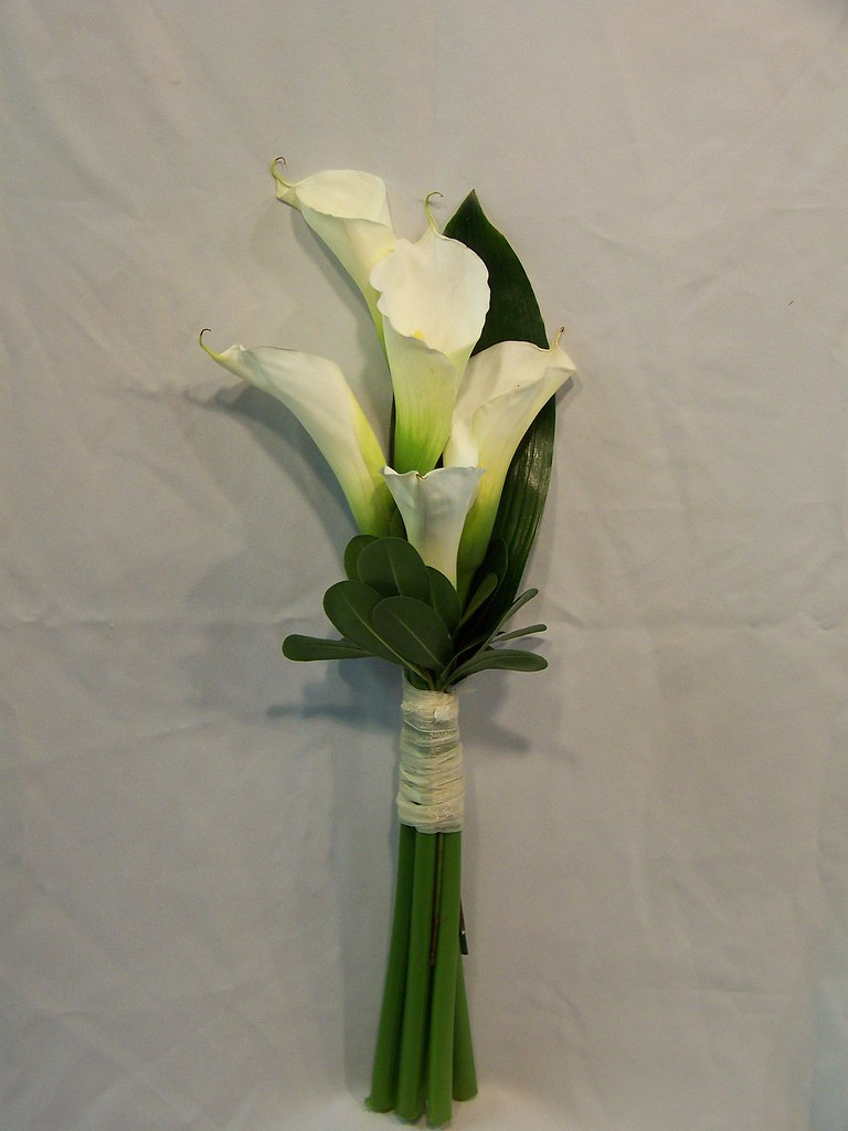 Calla lily bridesmaid bouquet a photo on flickriver calla lily bridesmaid bouquet izmirmasajfo