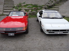 automobile, automotive exterior, vehicle, performance car, ferrari mondial, ferrari 328, bumper, ferrari s.p.a., land vehicle, luxury vehicle, coupã©, convertible, sports car,