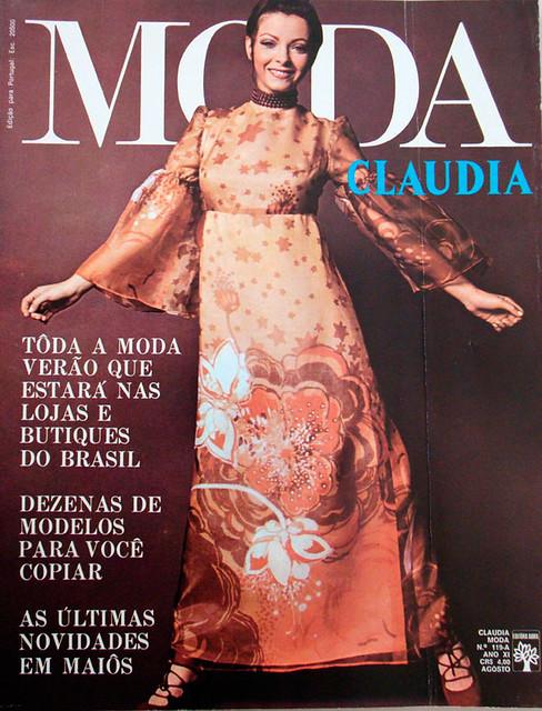 Claudia Moda-August 1971