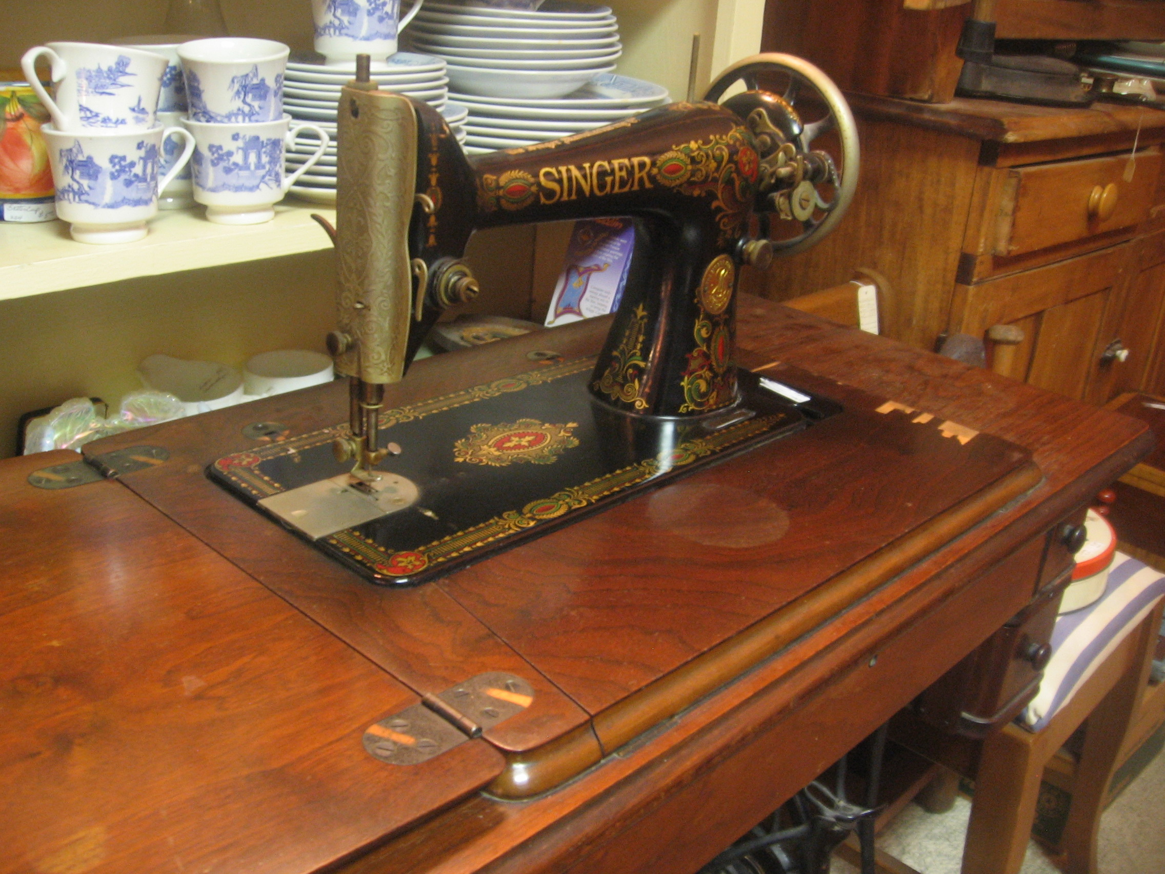 1924 singer sewing machine value
