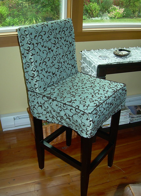 Bar Stool Slipcovers Diy