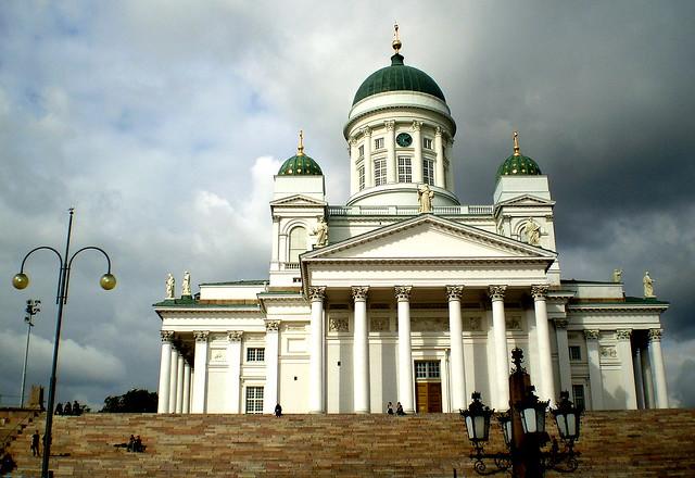Catedral blanca de Helsinki