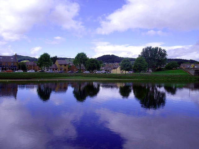 River Ness and Friars Shott Inverness Scotland
