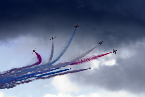 Red Arrows - Leuchars Airshow 2010