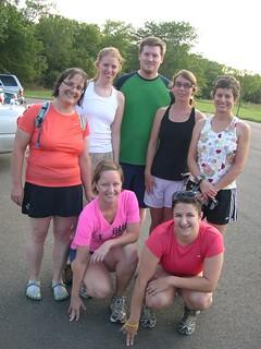 Wed. night run (held Tues.) 8-24-10