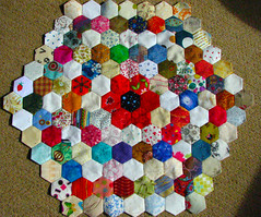 hexagon with six rings