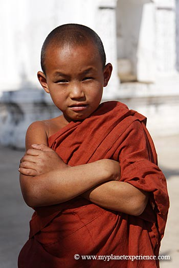 Myanmar experience : young monk