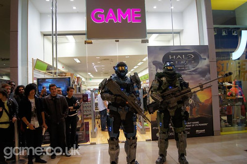Halo Reach official launch, GAME White City