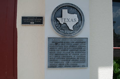 Photo of Alfred Giles black plaque