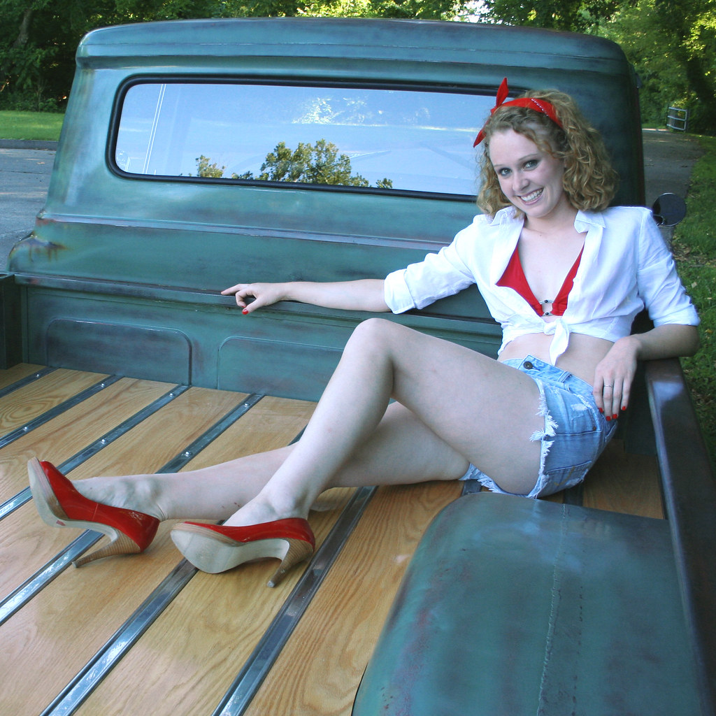 1959 Ford Truck Photo Shoot By Clean Cut Creations Vintage Auto Works 1941 Panel Sport F100 A Stylefont