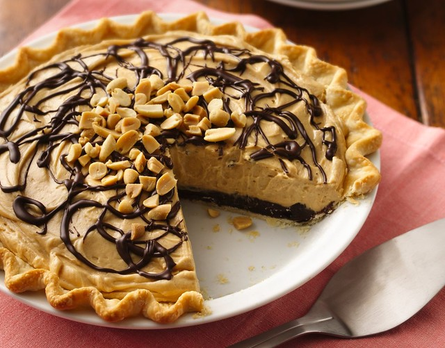 Chocolate-Peanut Butter Truffle Pie Recipe | Flickr - Photo Sharing!