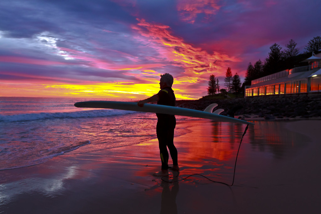 Surfing in the Land Down Under