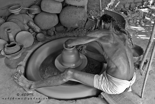 Pottery Worker of Bangladesh