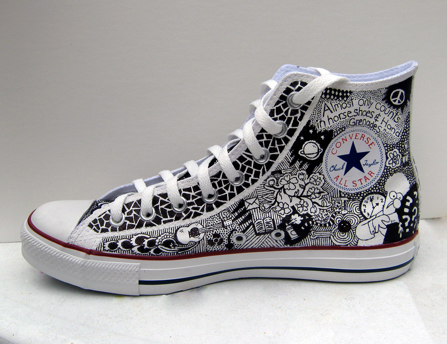 f66739ba7a3 by Chelsea Kirchoff Custom Converse!