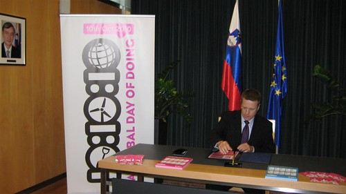 Slovenia MFO signed up for 10:10