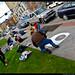 Tacoma Sidewalk Chalk - 2008-10-19