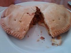Top Nosh Cafe - Chicken yam curry pie