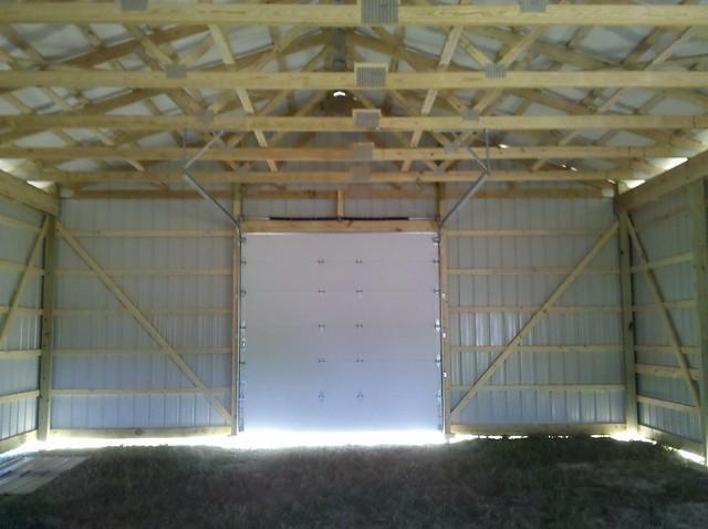 Inside images of finished pole barns joy studio design for Pole barn house inside pictures