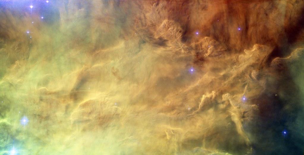Hubble reveals heart of Lagoon Nebula