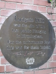 Photo of Philip Matsell and Ludgate Hill, Birmingham bronze plaque
