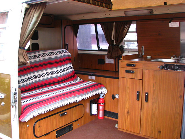 Volkswagen westfalia camper interior flickr photo sharing for Interior westfalia