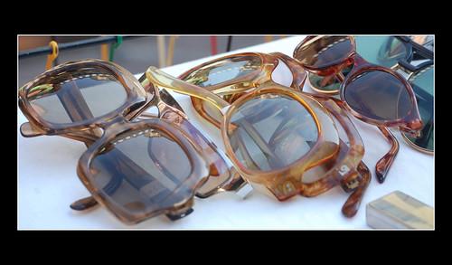 lunettes au marchè de Nice