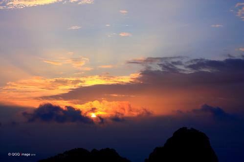 china sunrise canon landscape 中国 黄山 风景 2010 anhui 日出 佳能 安徽 mthuangshan 450d