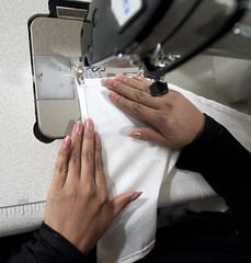 sewing, hand, art, arm, finger,