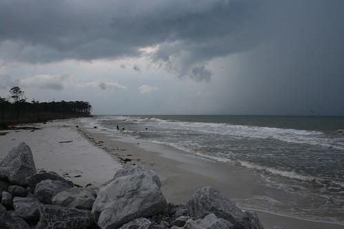 Cape San Blas, storm approaching
