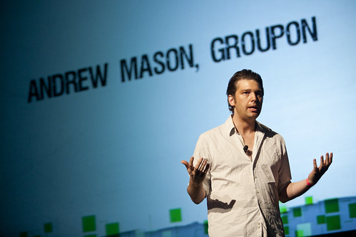 Andrew Mason ex PDG de Groupon