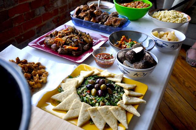 Potluck Dinner 01 | Flickr - Photo Sharing!