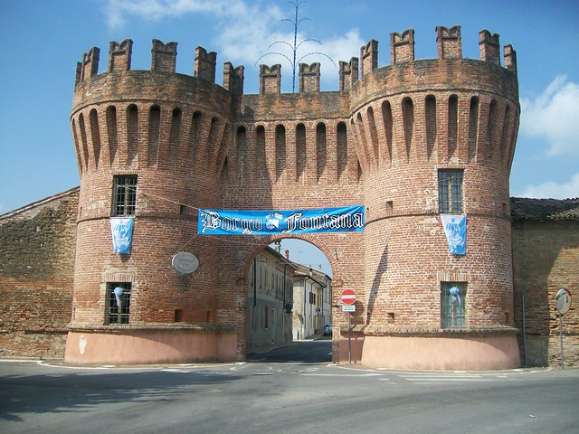 Rivarolo mantovano la cinquecentesca porta mantova - Porta mantovana ...