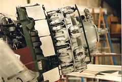 N1K2 Shinden in Champlin's resoration shop