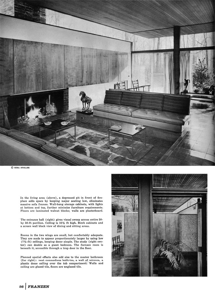 Beattie Residence - Rye, New York - 1958 (Page 3 of 6)