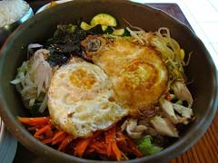 noodle, meal, bibimbap, food, dish, cuisine,