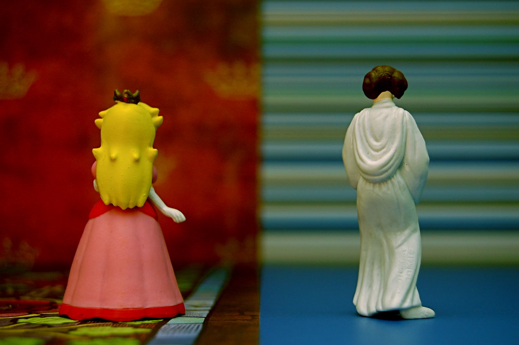 Princess Peach vs. Princess Leia Organa (280/365)