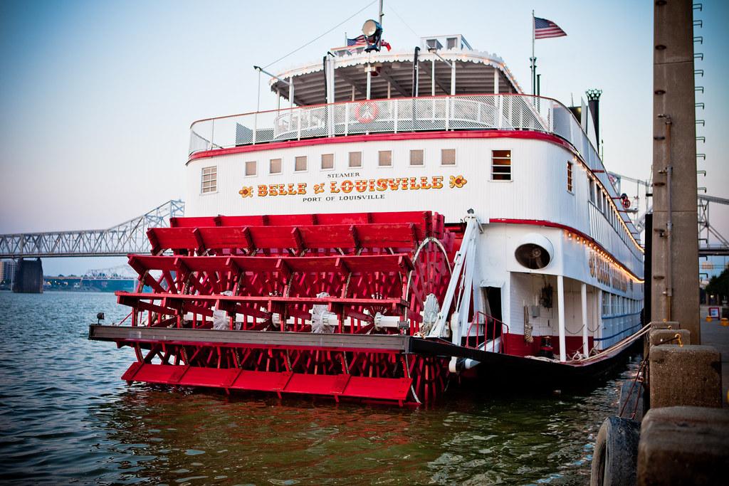 Historic Belle Of Louisville Kentucky