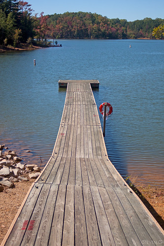 park camping camp water river pier dock