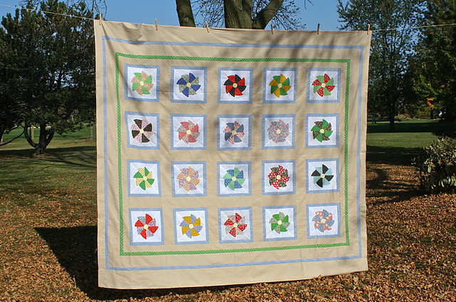Three Generations quilt top