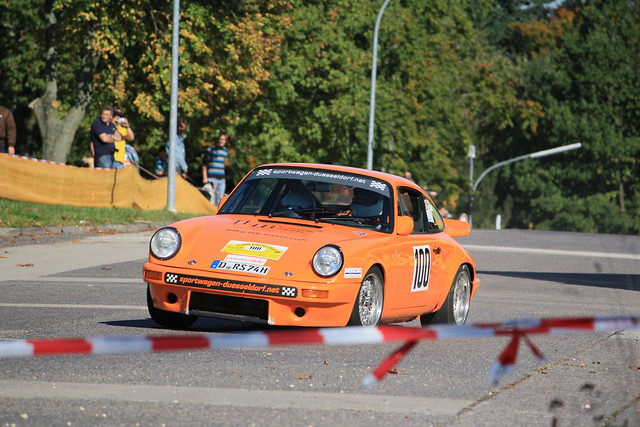 Porsche 911 RS in der Kurve