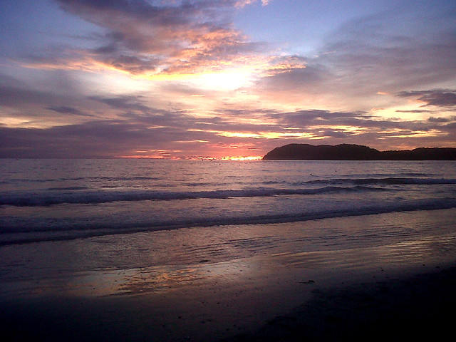 Sunset at Cenang Beach (Langkawi)